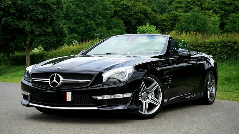 Parafango e paraurti Mercedes